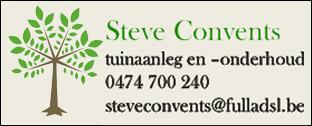 Steve Convents tuinaanleg en -onderhoud