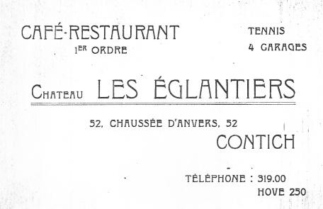 Eglantier-kaartje