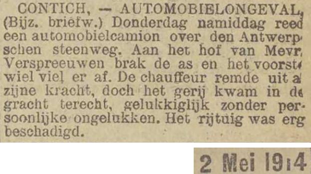 krantenknipsel 1914
