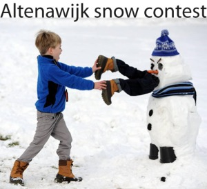 snow contest